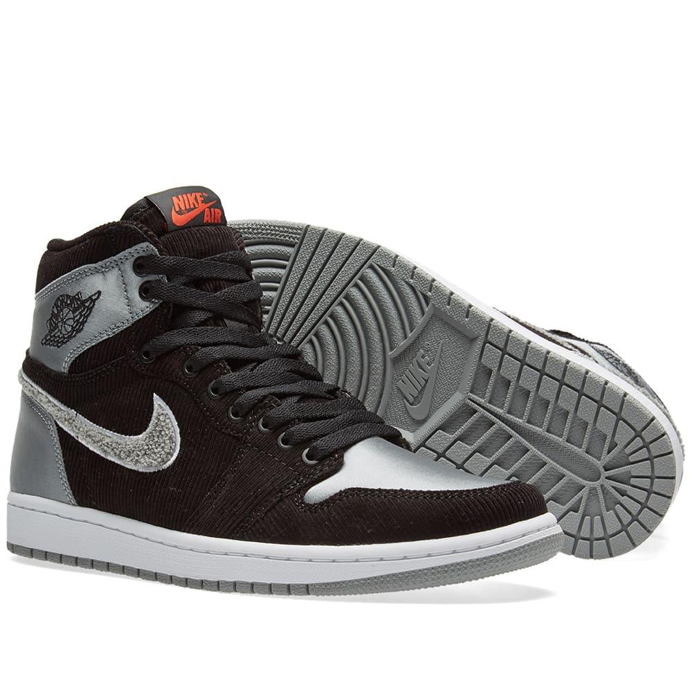 678fa0cd036eae Nike x Aleali May Air Jordan 1 Retro High Black