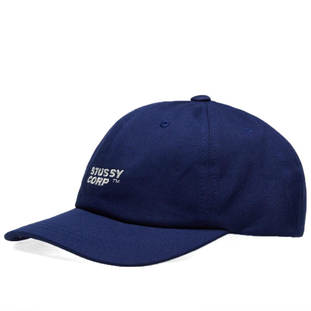7a083380f3d Stussy Corp Low Pro Cap Navy