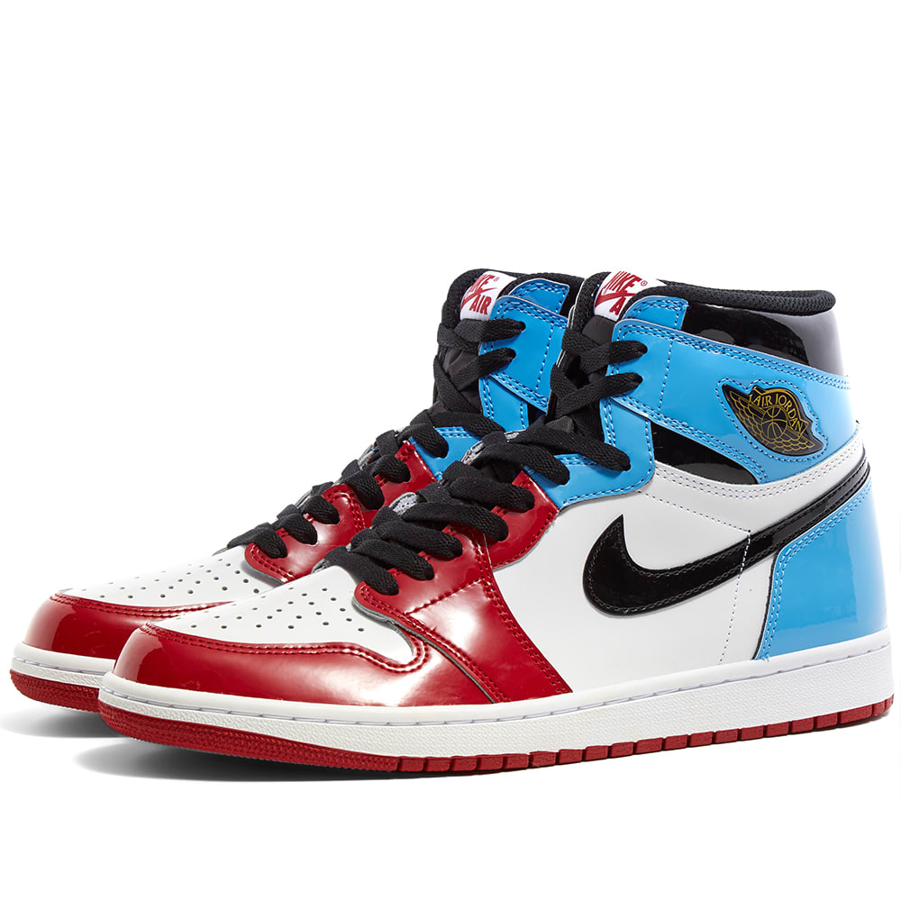 jordan 1 red white blue