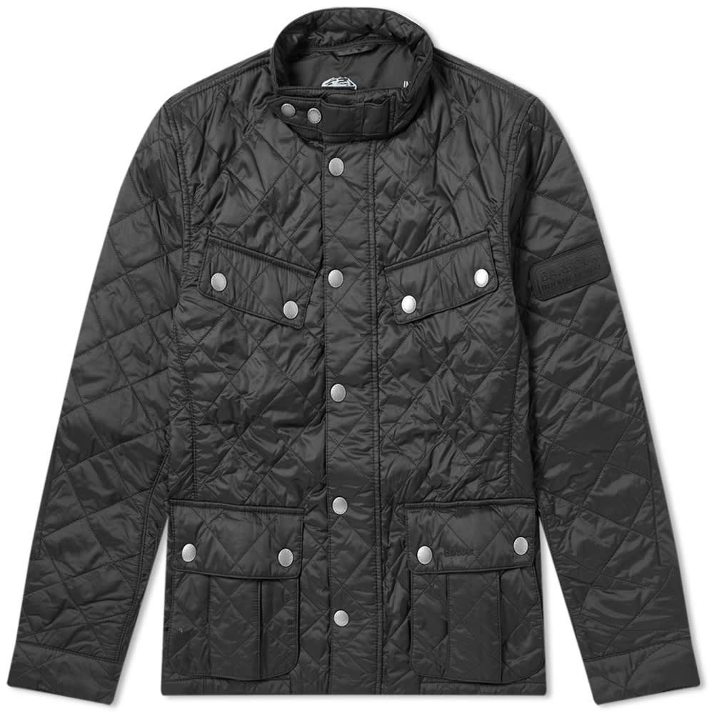 Barbour International Ariel Quilt Jacket MQU0251BK11