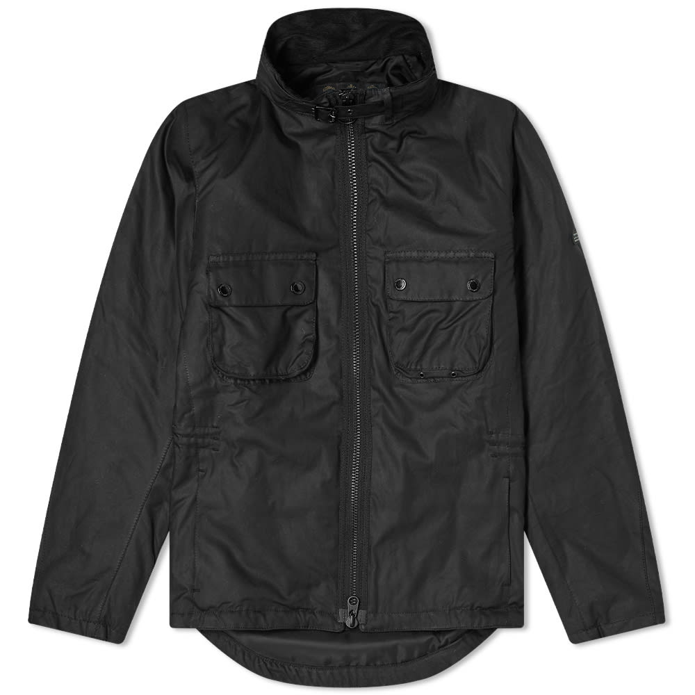 Barbour International Tennant Wax Jacket MWX1617BK71