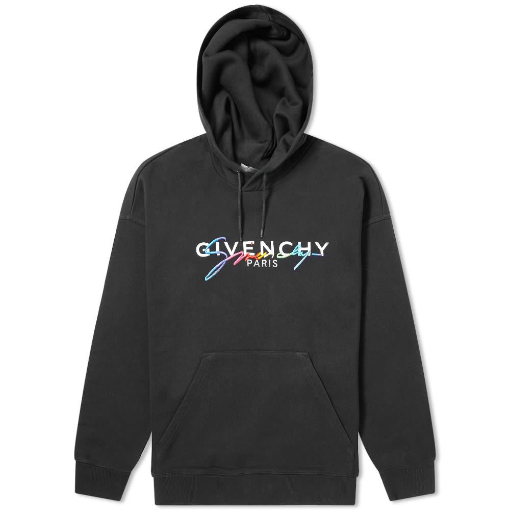 Givenchy Rainbow Logo Hoody by Givenchy