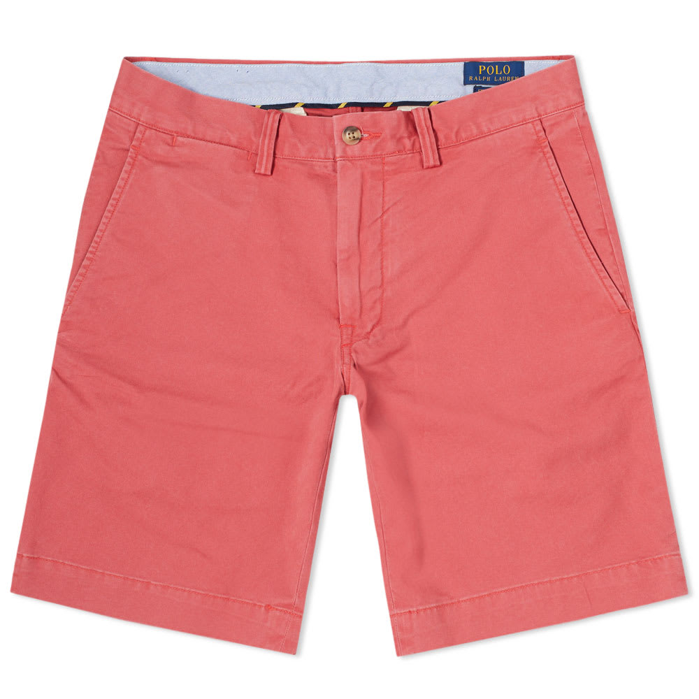 Polo Ralph Lauren Chino Short In Pink