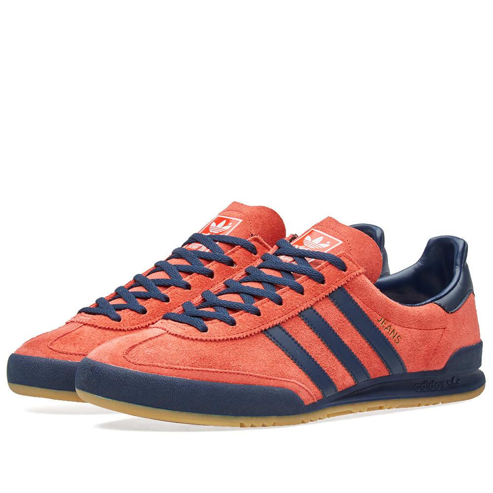 Adidas Jeans MKII Red \u0026 Collegiate Navy