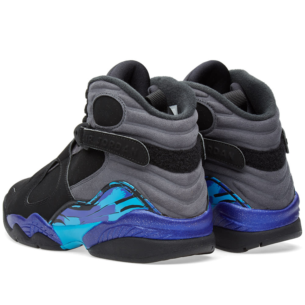 60b8f63ff71 Nike Air Jordan VIII Retro 'Aqua' Black & Bright Concord | END.