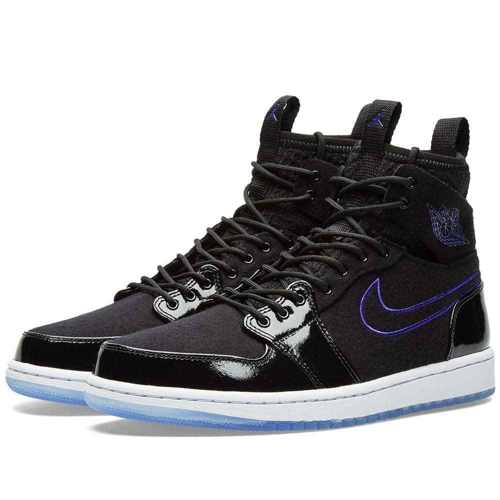 on sale c7ad6 f31f4 Nike Air Jordan 1 Retro Ultra High Black, Concord   White   END.