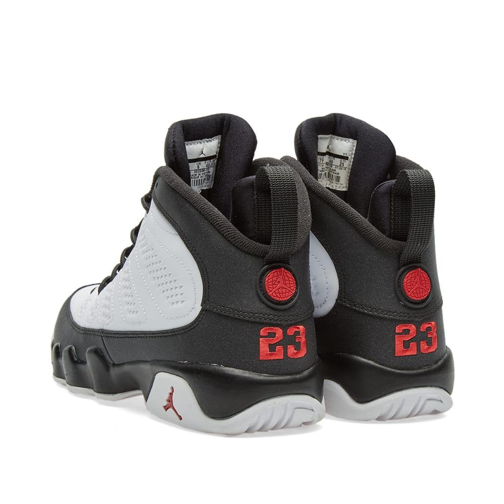 new style 1cd32 73779 Nike Air Jordan 9 Retro BG  Space Jam  White, True Red   Black   END.