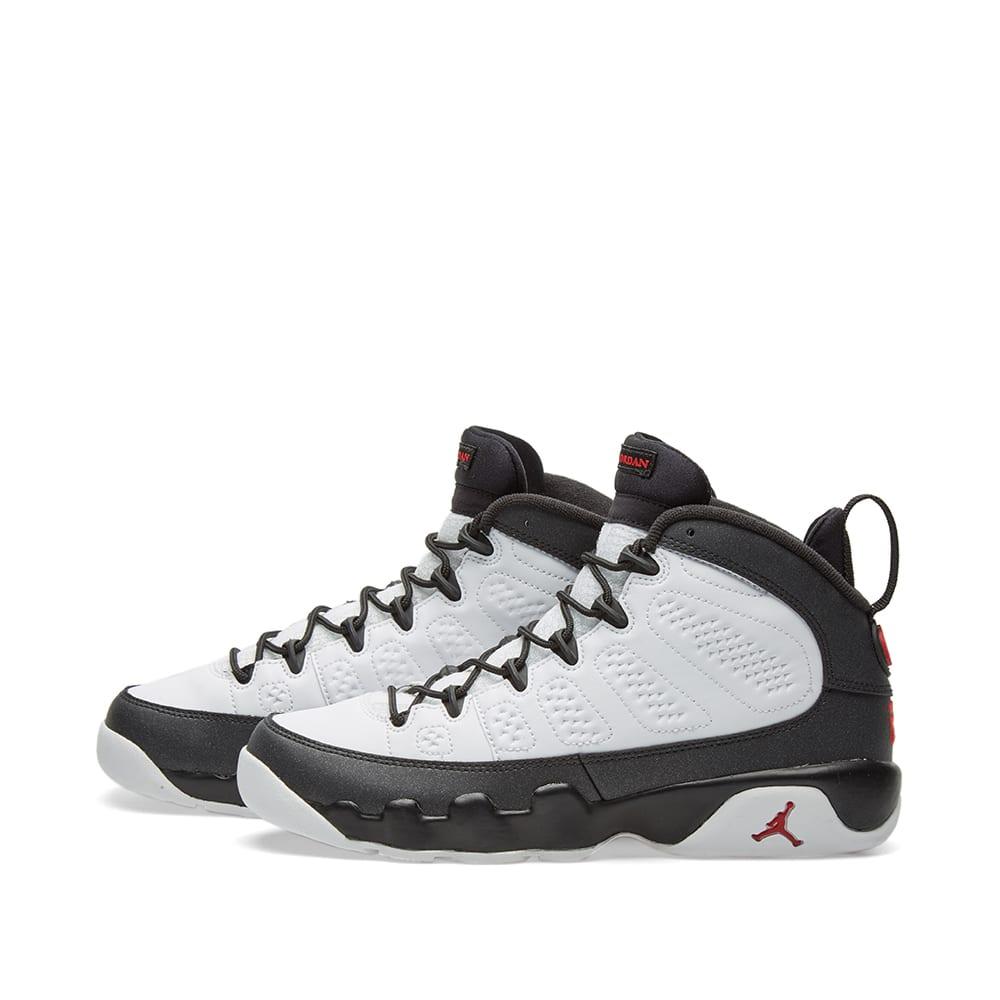 aa70239c02c68d Nike Air Jordan 9 Retro BG  Space Jam  White