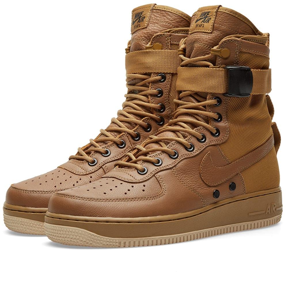 nike air force 1 sf beige