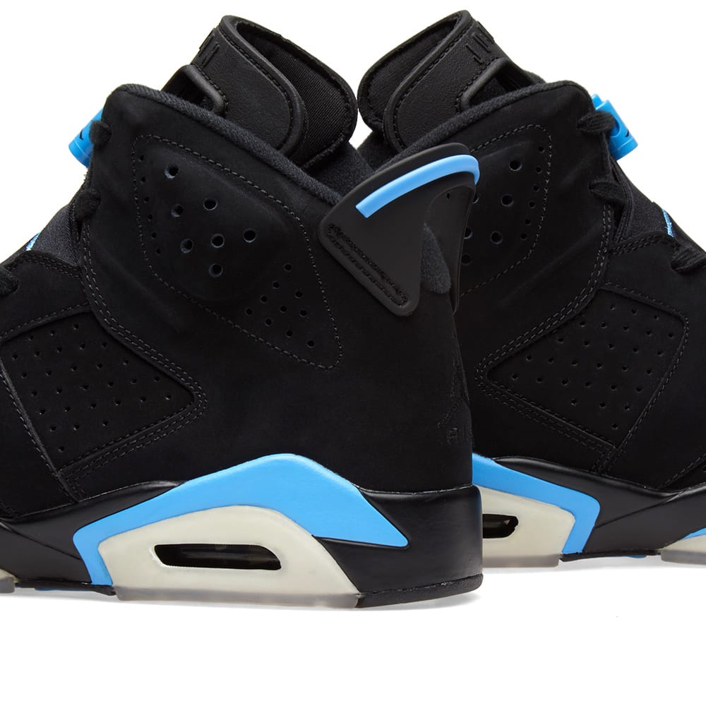 newest a3d08 5757f Nike Air Jordan 6 Retro UNC