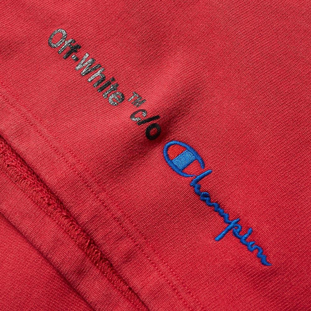 78456d49b060 Off-White x Champion Short Red & Black | END.