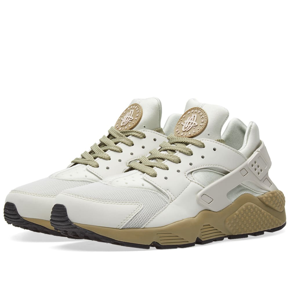 18cb6176c386 Nike Air Huarache Run Light Bone   Neutral Olive