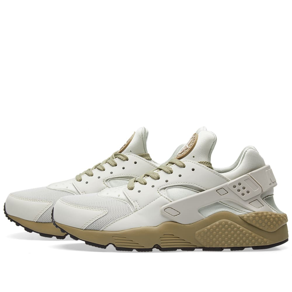 check out fc4f1 2c9e0 Nike Air Huarache Run Light Bone   Neutral Olive   END.