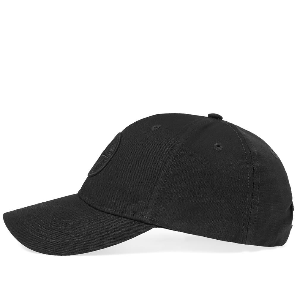 571c8eda34367 Stone Island Compass Logo Baseball Cap Black