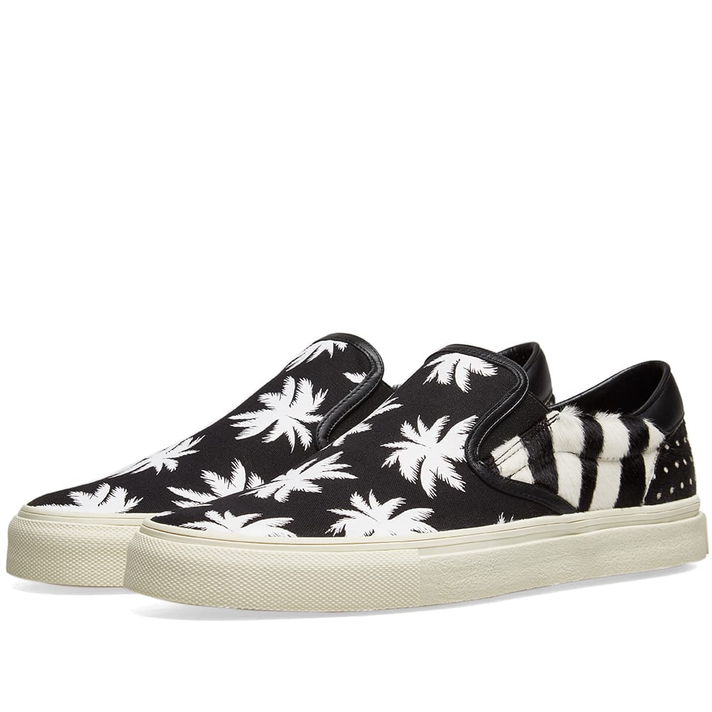 Amiri Slip On Palm Patchwork Sneaker by Amiri