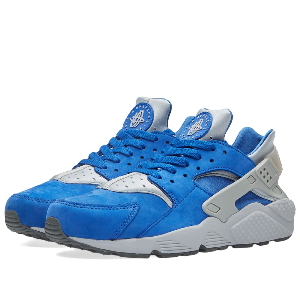 best service ec388 3bf44 Nike Air Huarache Run Premium. Varsity Royal   Wolf Grey