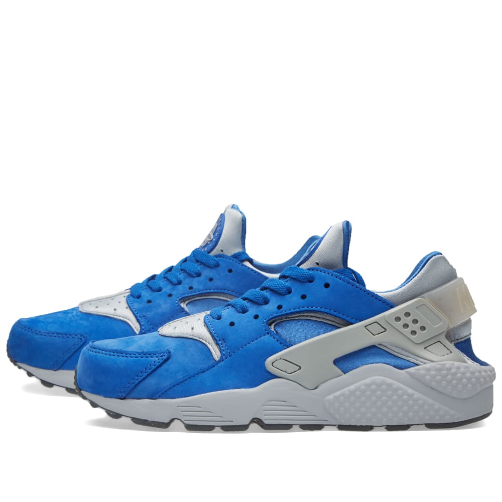nike air huarache run premium varsity royal wolf grey. Black Bedroom Furniture Sets. Home Design Ideas