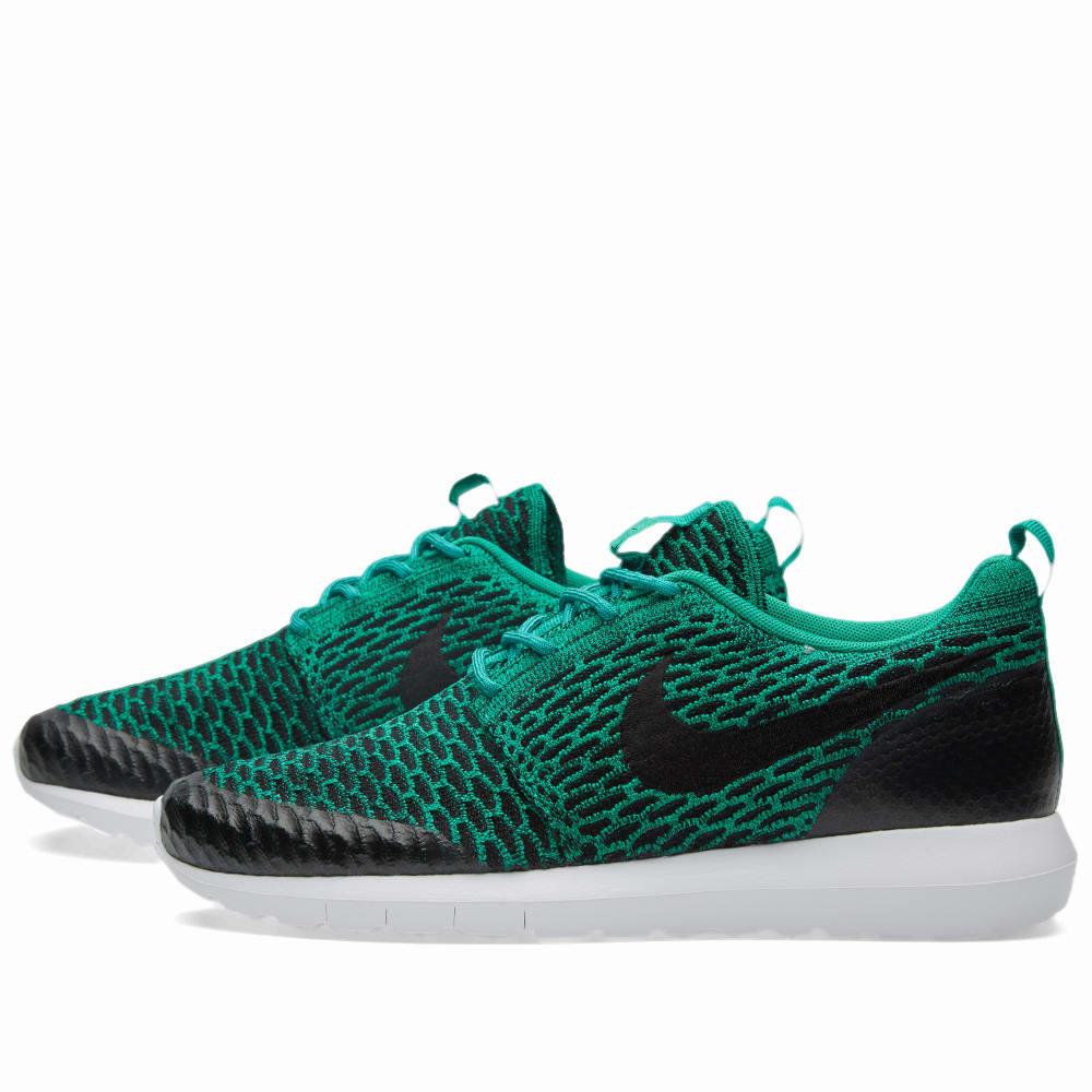 8048a3865063 Nike Roshe NM Flyknit SE Lucid Green