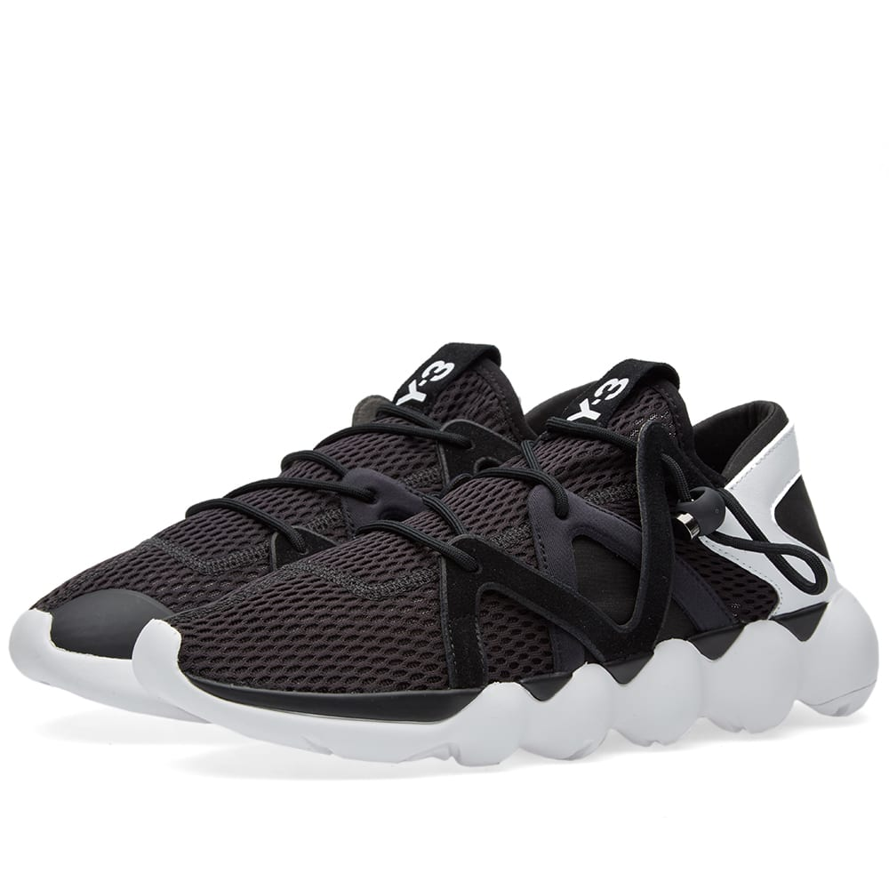 f837490e9 Y-3 Kyujo Low Black   White