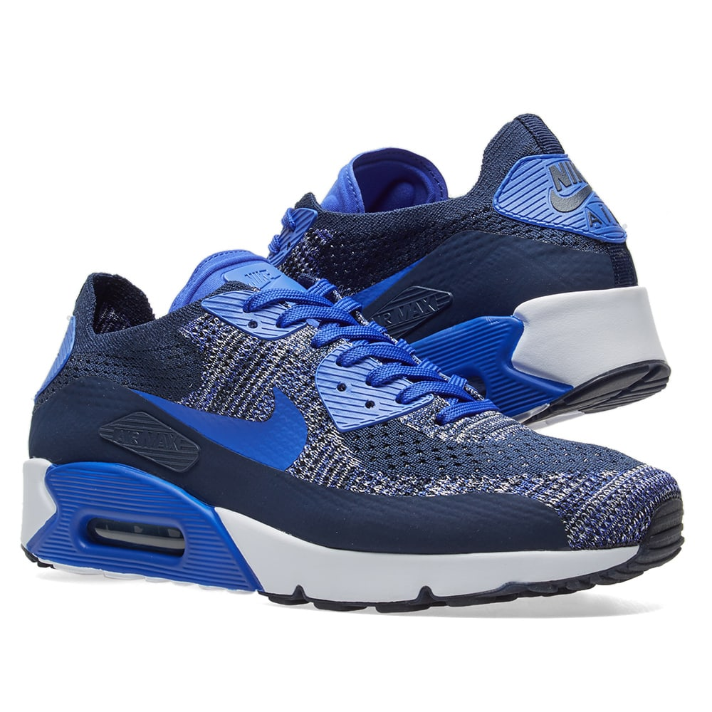 By Photo Congress || Air Max 90 Flyknit Blue