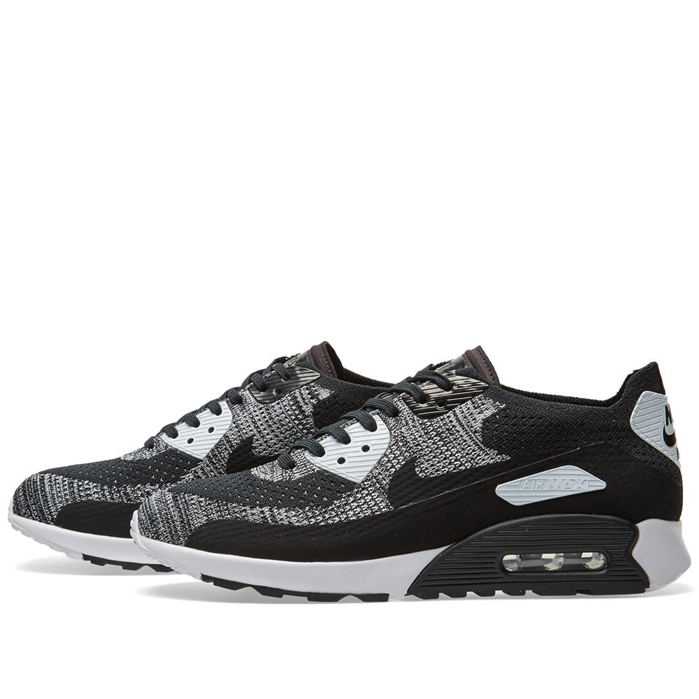 cea6a099eaf39 Nike W Air Max 90 Ultra 2.0 Flyknit Black