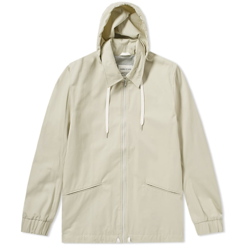 A KIND OF GUISE A Kind Of Guise Nevada Coach Jacket in Neutrals