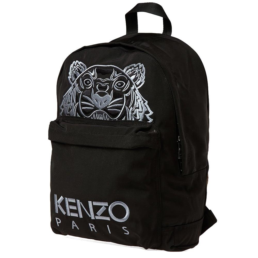 6bcd7234 Kenzo Tiger Backpack Black | END.