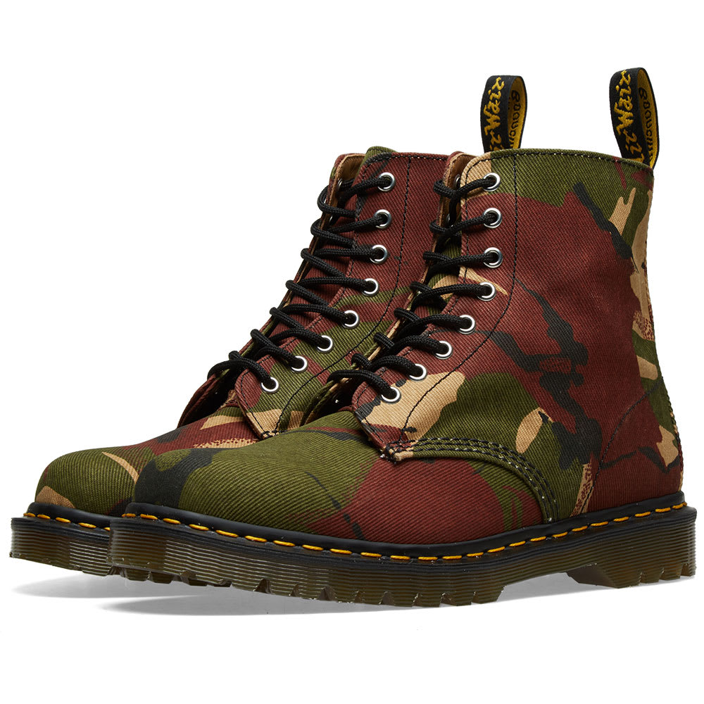 a1d911b4a02e7 Dr. Martens 1460 Camo Boot - Made in England Camo 18 Oz | END.