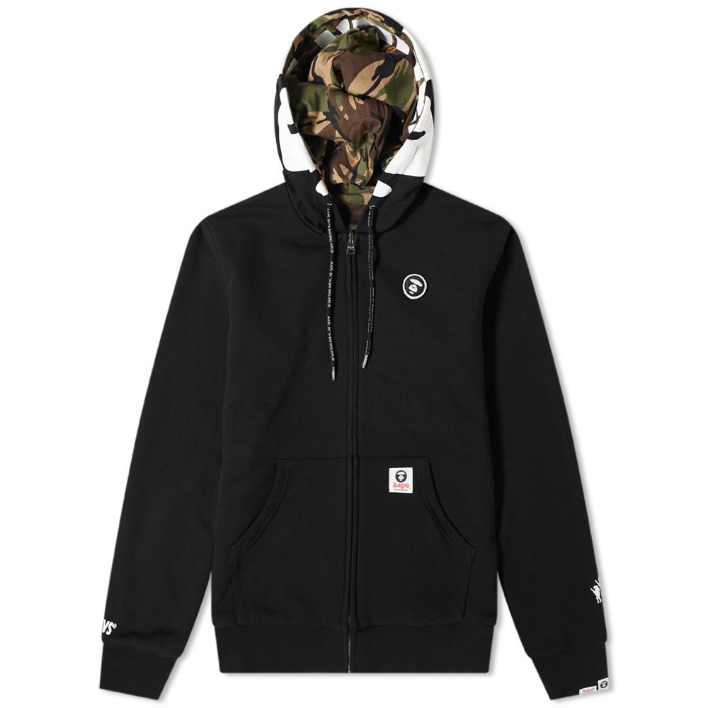 Armor-Lux AAPE Ape Face Reversible Zip Hoody