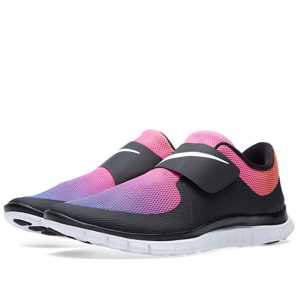 premium selection 0ff44 8381a Nike Free Socfly SD Black, White & Pink Flash   END.