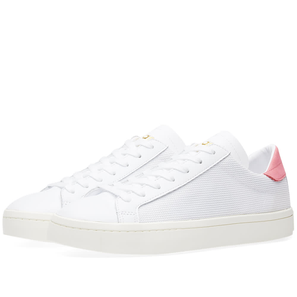 new arrival 6da54 b40f1 Adidas Originals Adidas Court Vantage In White