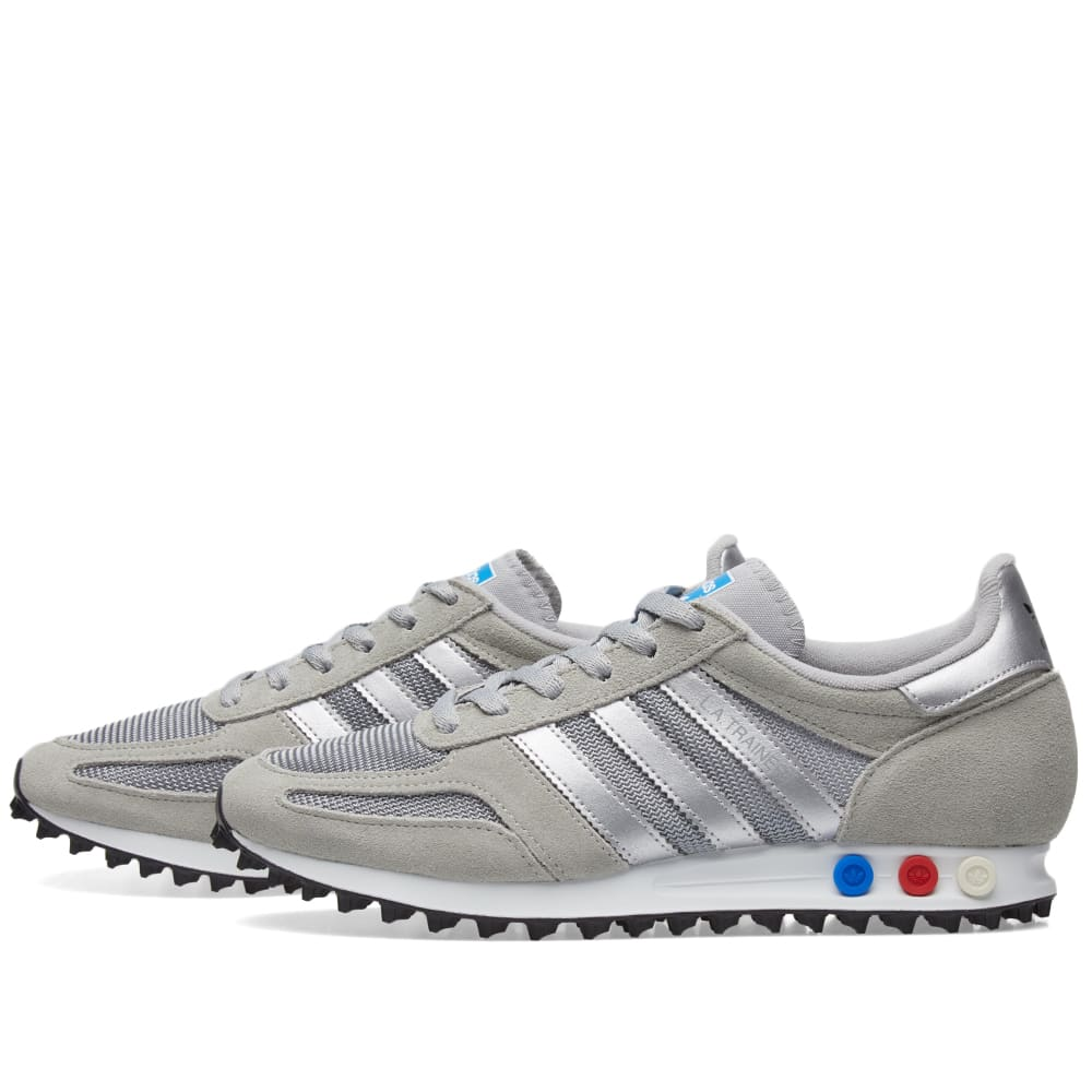 adidas trainer silver white