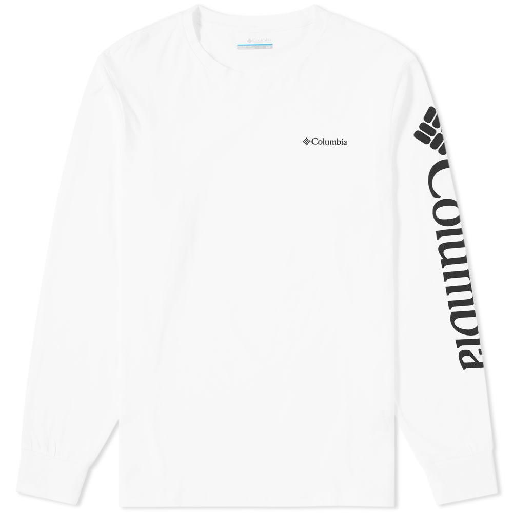 COLUMBIA LONG SLEEVE GRAPHIC TEE