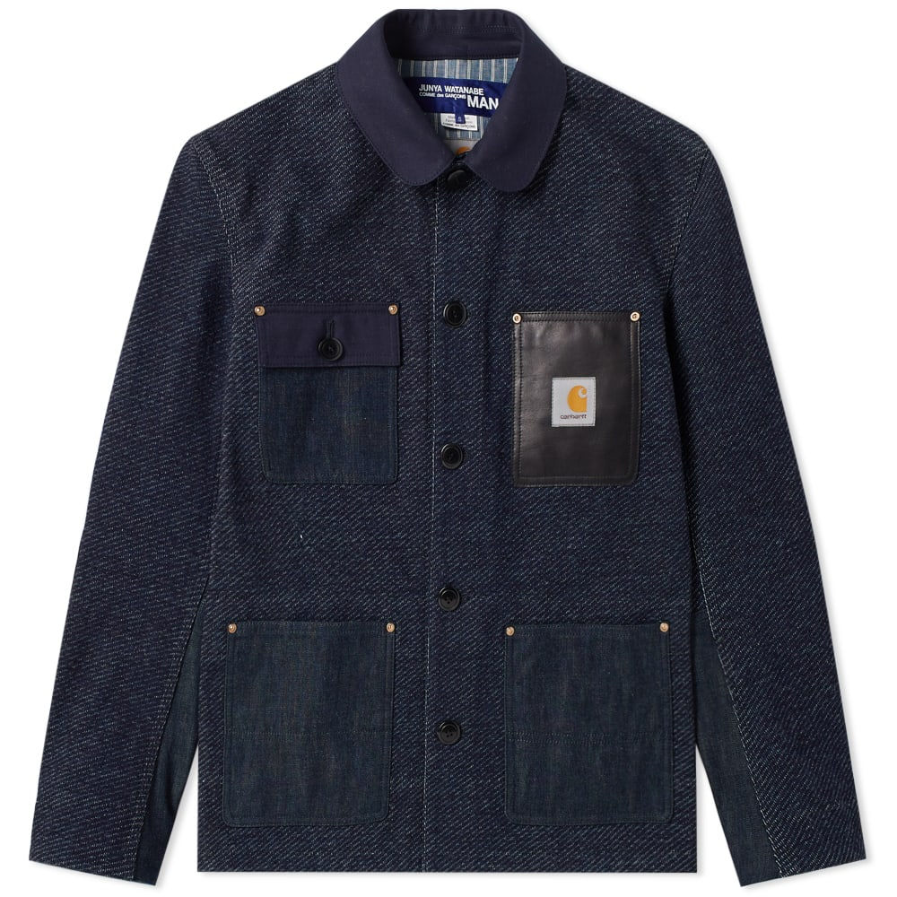JUNYA WATANABE MAN X CARHARTT DENIM WORK JACKET