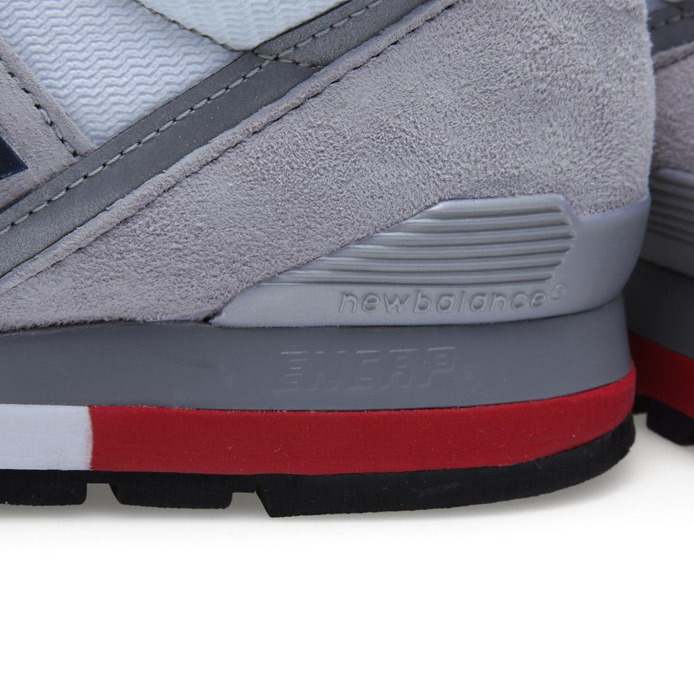 New Balance M996rrg Light Grey Red