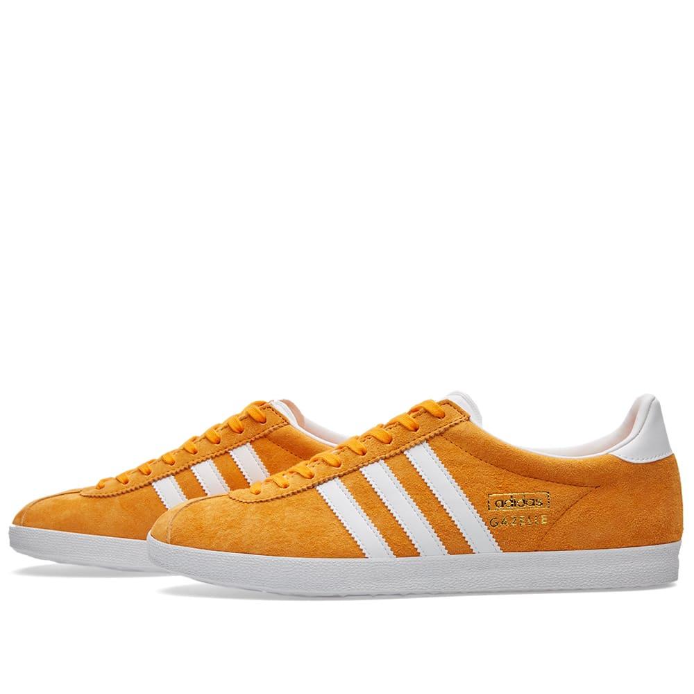 Adidas Gazelle OG Bright Orange \u0026 White