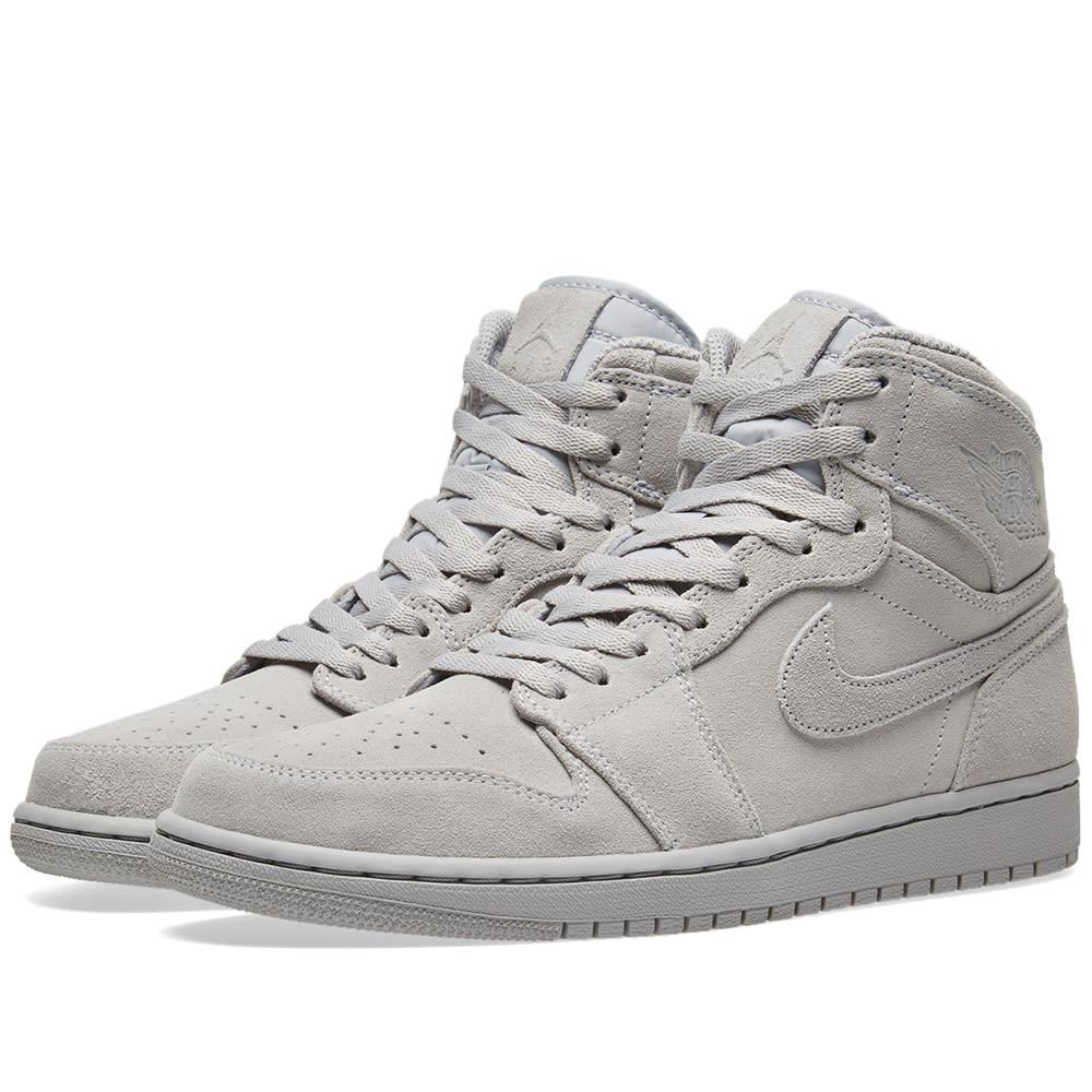 8b59a783a45018 Nike Air Jordan 1 Retro High Wolf Grey