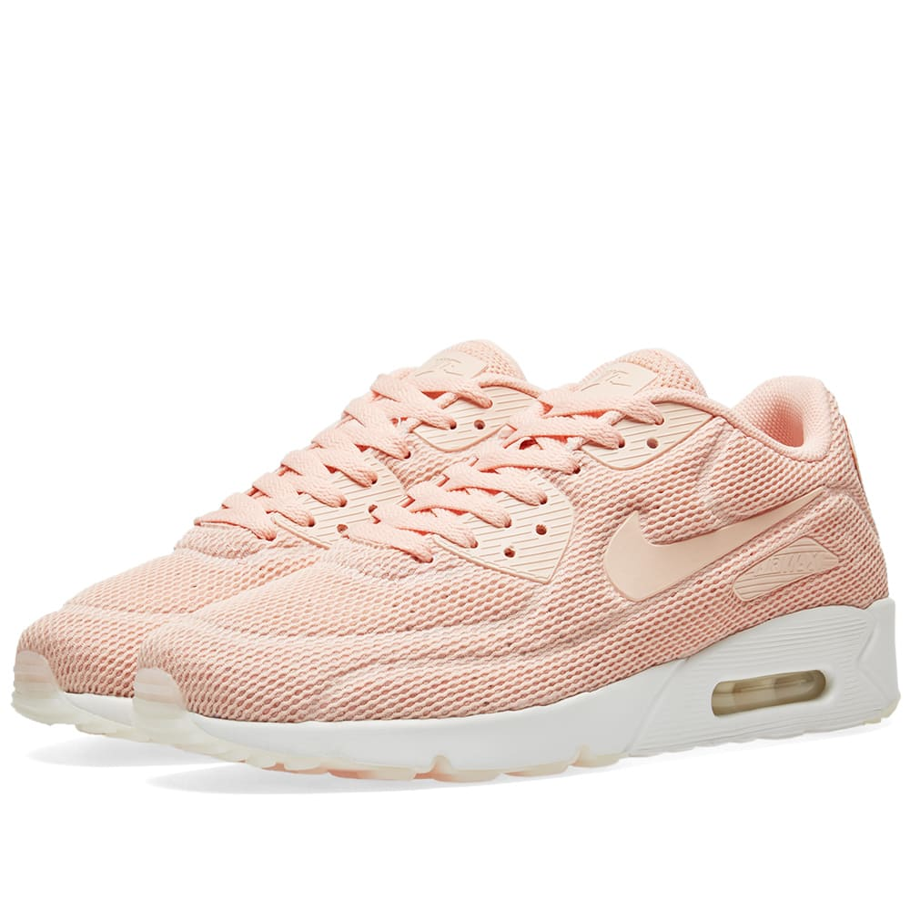 detailed look 7f91f 8d2ef Nike Air Max 90 Ultra 2.0 BR Arctic Orange   Summit White   END.