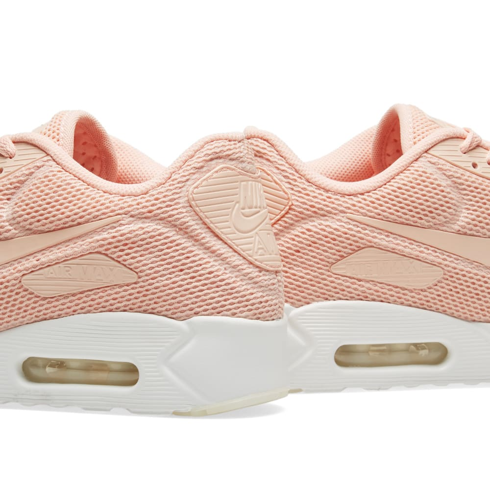 detailed look fc454 f3337 Nike Air Max 90 Ultra 2.0 BR Arctic Orange   Summit White   END.
