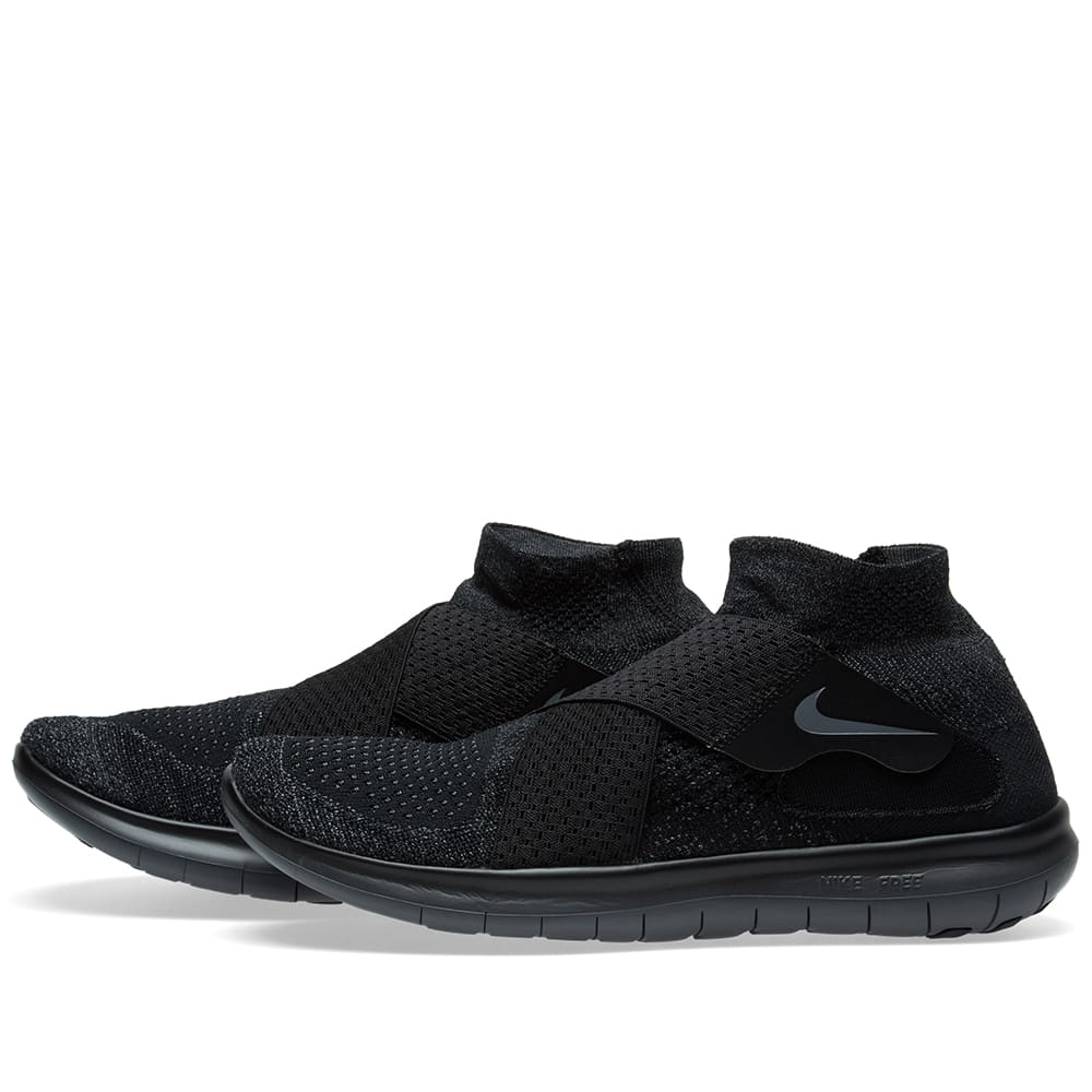 Nike Free RN Motion Flyknit 2017 BlackDark Grey