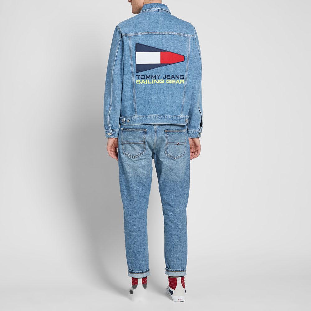 2bdd7b7d Tommy Jeans 5.0 90s Logo Denim Jacket Mid Blue Denim | END.