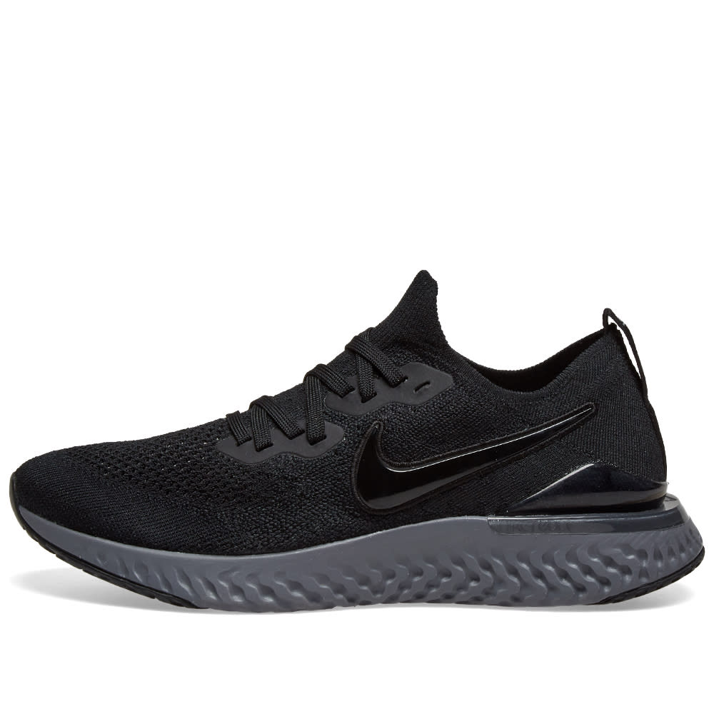 2cd6c9409339 Nike Epic React Flyknit 2 Black