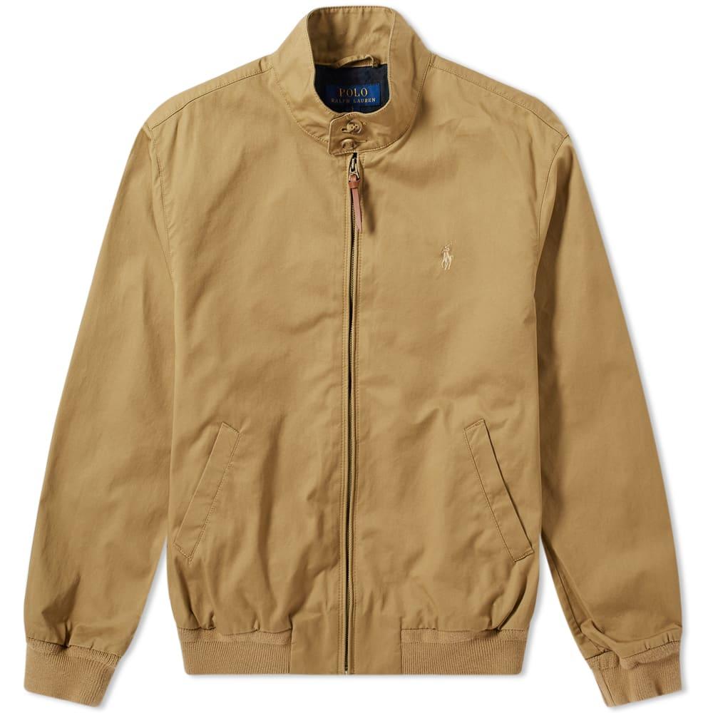 attractive style watch world-wide renown Polo Ralph Lauren Cotton Harrington Jacket