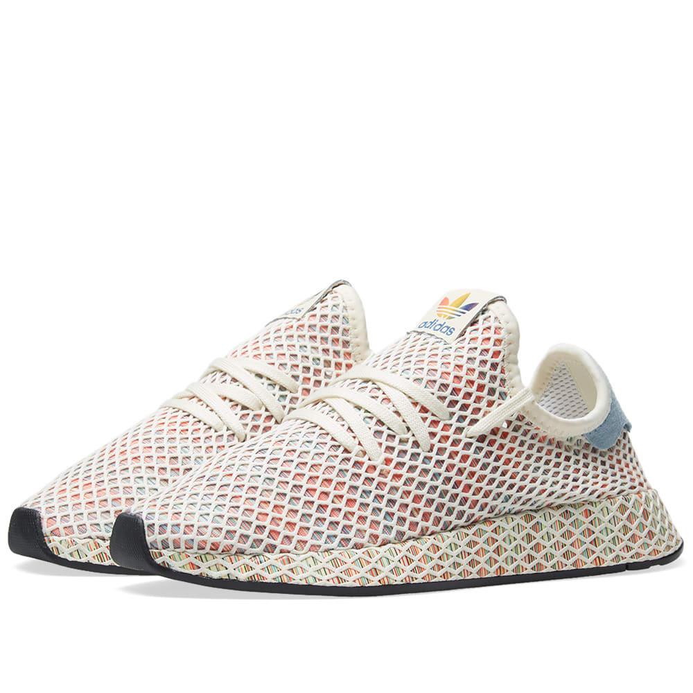 8be0a1d7740 Adidas Originals Adidas Pride Deerupt Sneakers - Multicolour