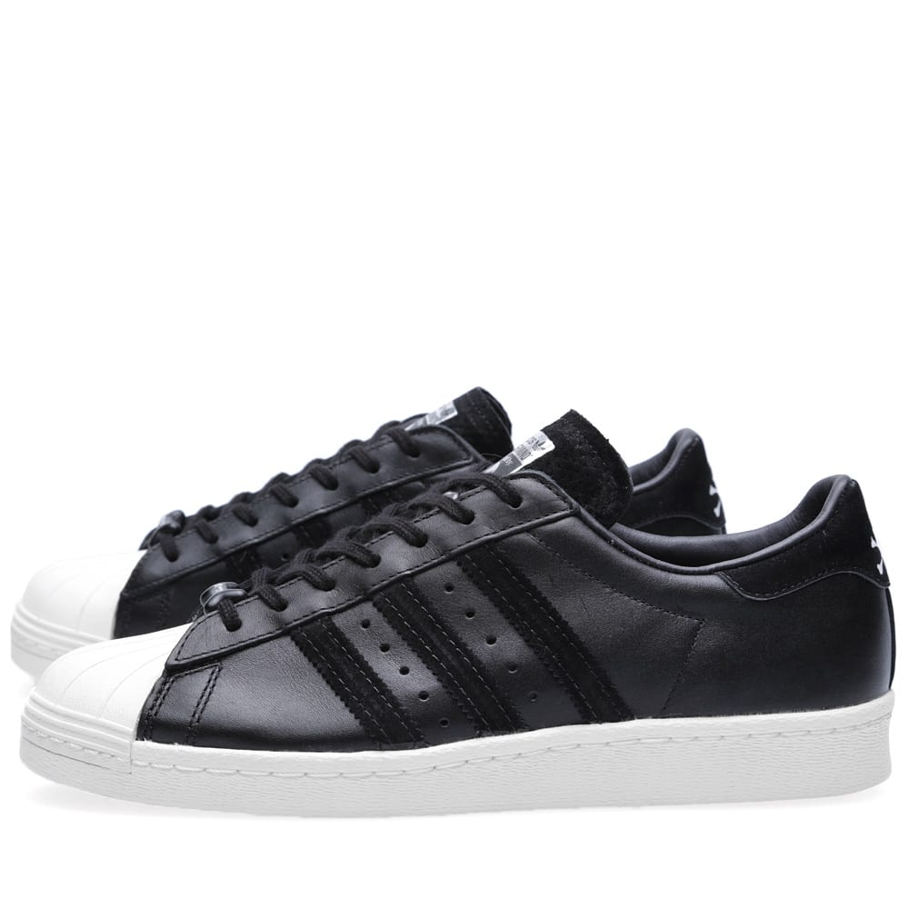 14d6dcbead1a1 Adidas Originals x Mastermind Japan Superstar 80s Black