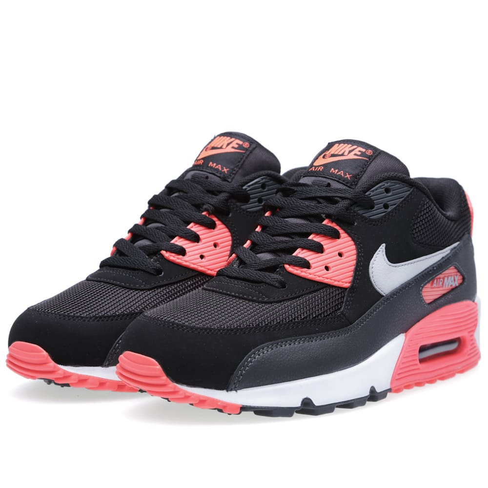 the best attitude 818ee 6bc07 Nike Air Max 90 Essential Black   Wolf Grey   END.