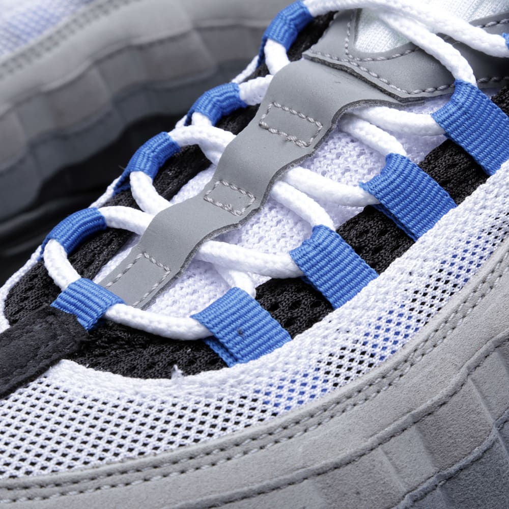 save off 29449 4bf3d Nike Air Max 95 White   Blue Spark   END.