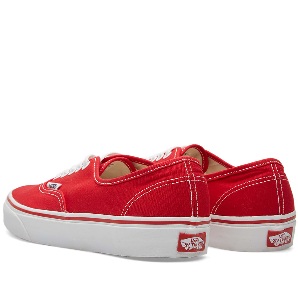 Vans authentic red tubede - dab