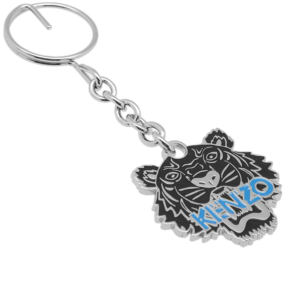 4e8374c6 Kenzo Tiger Key Chain Black & Blue | END.
