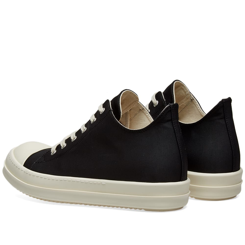 Rick Owens DRKSHDW Logo Low Sneaker Black & White | END.
